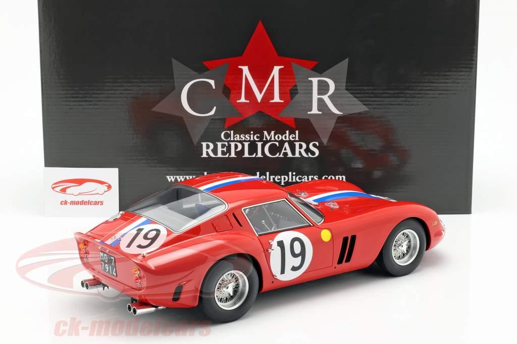 Ferrari 250 GTO #19 2nd 24h LeMans 1962 Noblet, Guichet 1:12 CMR