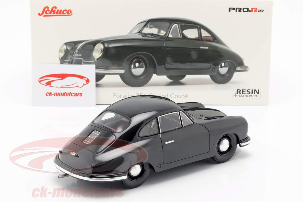 Porsche 356 Gmünd Coupe nero 1:18 Schuco