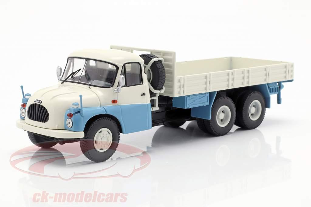 Tatra T138 Pick-Up Truck blue / white / gray 1:43 Schuco