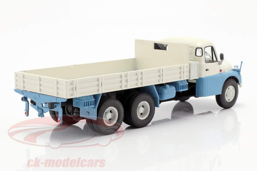 Tatra T138 Pick-Up Truck blå / hvid / grå 1:43 Schuco