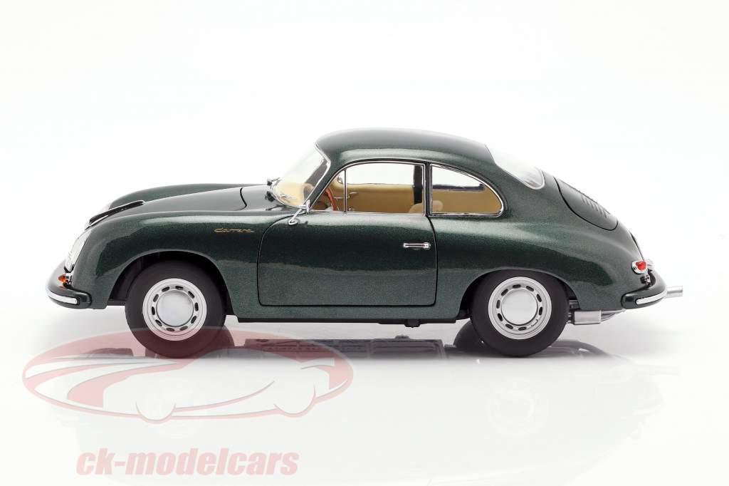 Porsche 356 A Carrera Coupe verde oscuro 1:18 Schuco