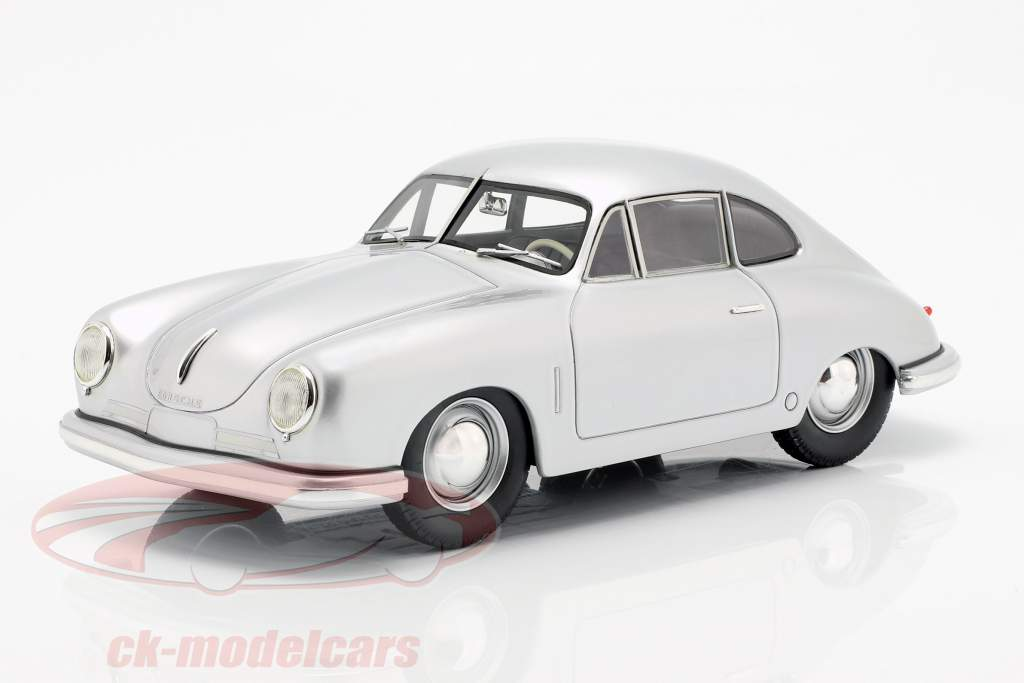 Porsche 356 Gmünd Coupe plata 1:18 Schuco