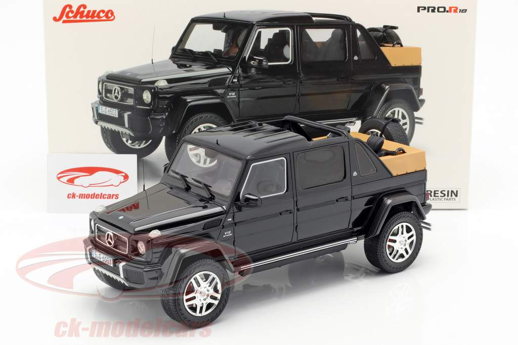 Mercedes-Benz Maybach G650 Landaulet dark blue 1:18 Schuco