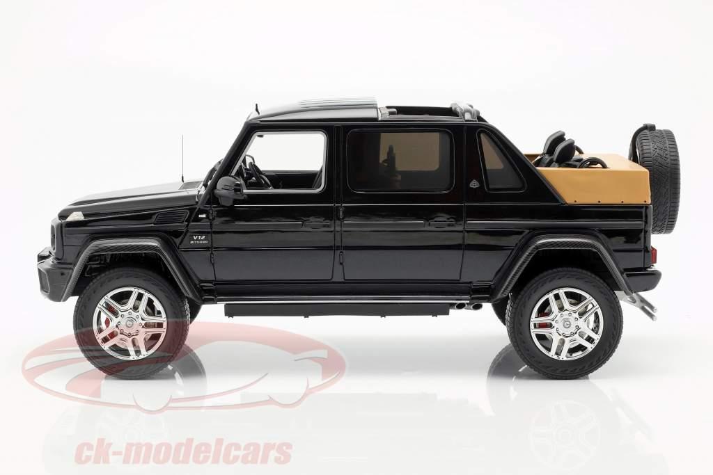 Mercedes-Benz Maybach G650 Landaulet azul escuro 1:18 Schuco