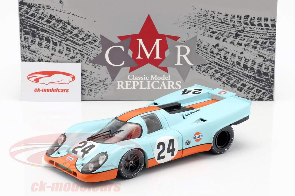 Porsche 917K Gulf #24 Vinder 24h Spa 1970 Siffert, Redman 1:18 CMR