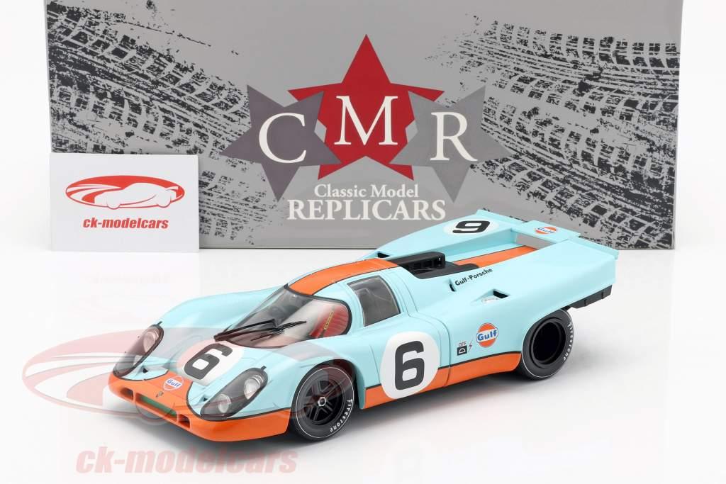 Porsche 917K Gulf #6 3 ° 1000km Brands Hatch 1971 Bell, Siffert 1:18 CMR