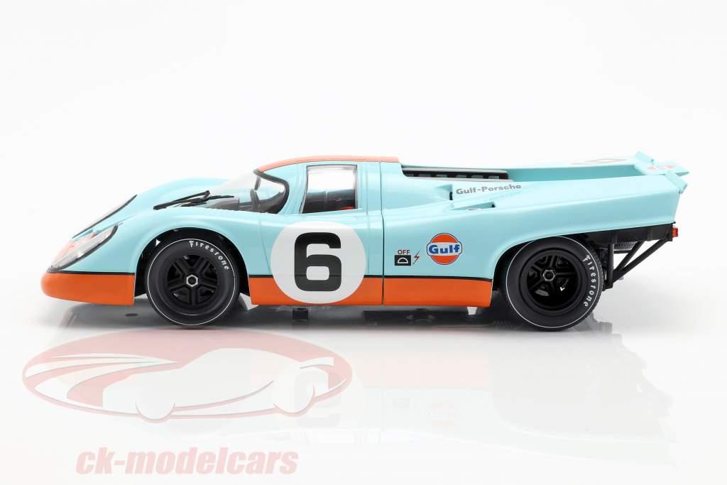 Porsche 917K Gulf #6 3e 1000km Brands Hatch 1971 Bell, Siffert 1:18 CMR