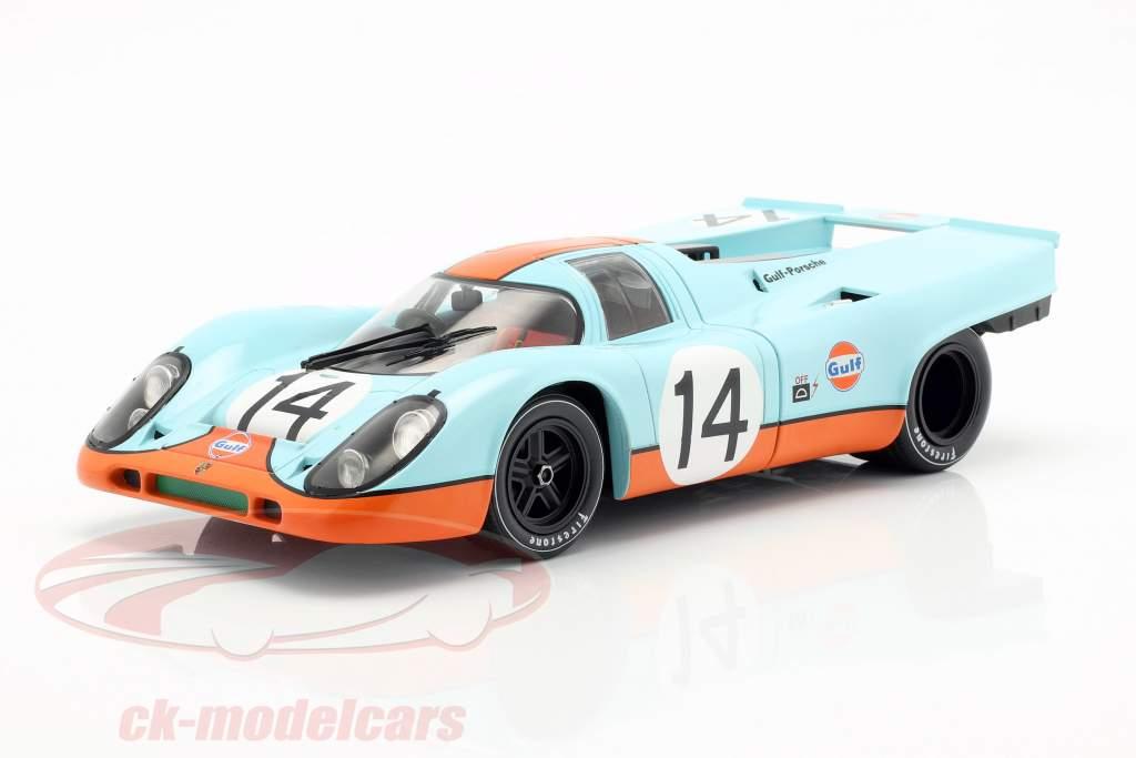 Porsche 917K Gulf #14 12h Sebring 1970 Siffert, Redman, Kinnunen 1:18 CMR