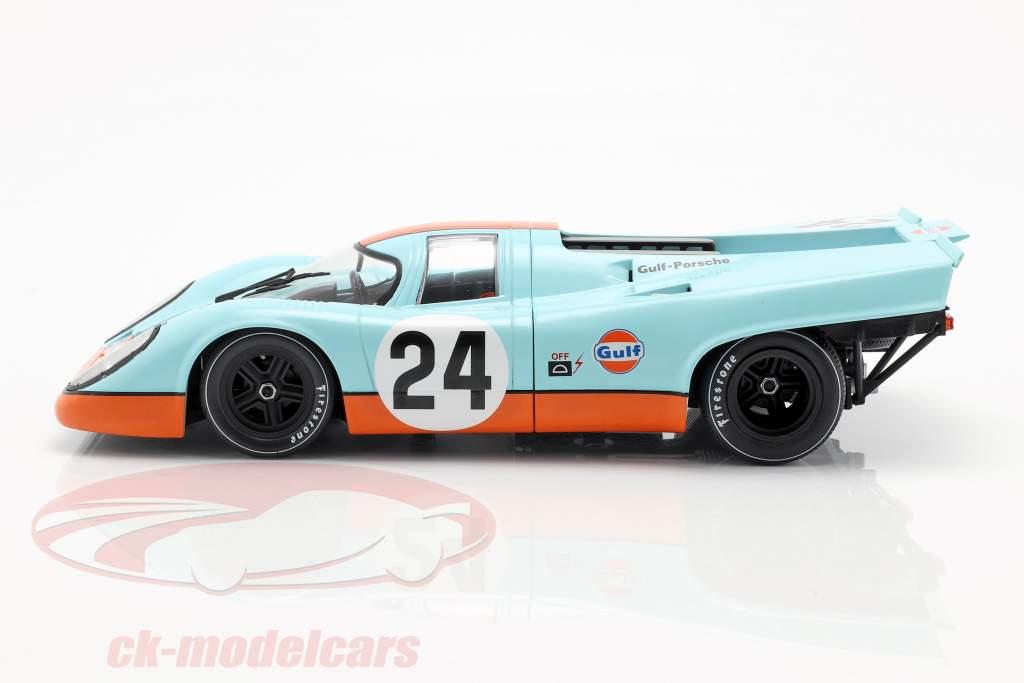 Porsche 917K Gulf #24 vincitore 24h Spa 1970 Siffert, Redman 1:18 CMR