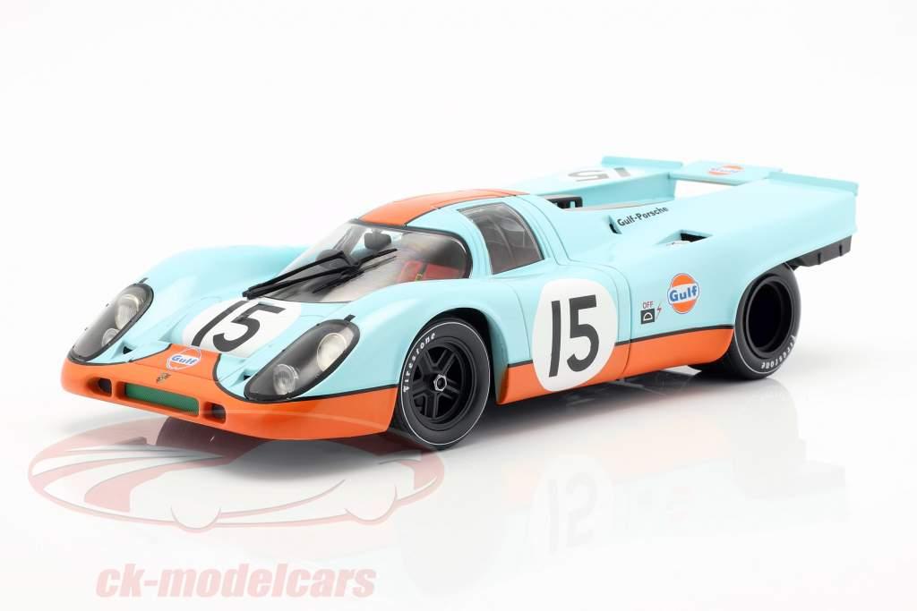 Porsche 917K Gulf #15 1000km Zeltweg 1971 Bell, Siffert 1:18 CMR
