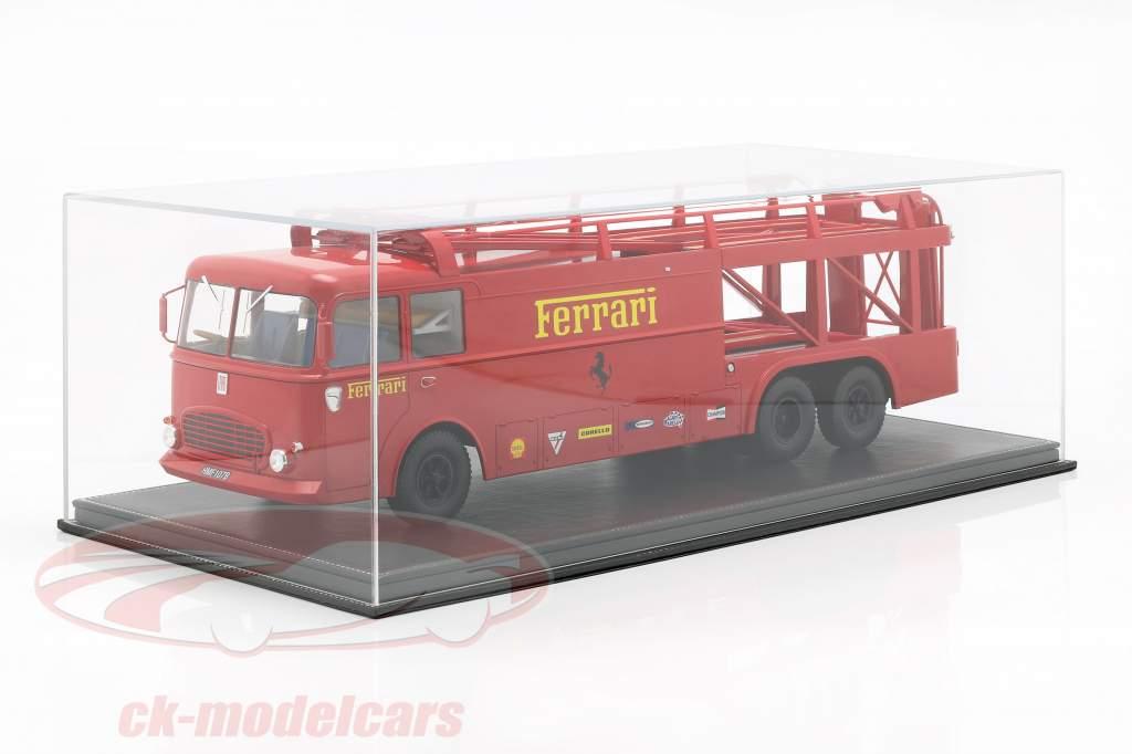 Fiat Bartoletti lastbil 306/2 Ferrari film LeMans 1:18 Norev