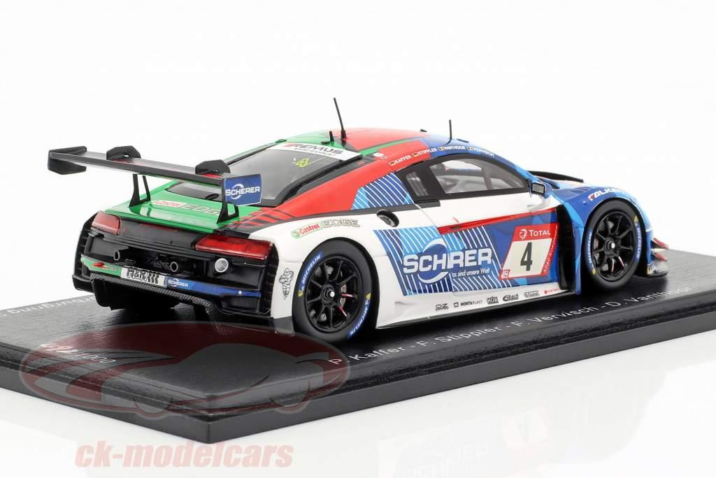 Audi R8 LMS #4 vencedor 24h Nürburgring 2019 Kaffer, Stippler, Vervisch, Vanthoor 1:43 Spark
