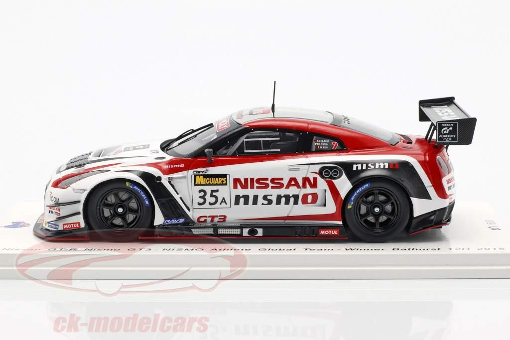 Nissan GT-R Nismo GT3 #35 Vinder 12h Bathurst 2015 Chiyo, Reip, Strauss 1:43 Spark