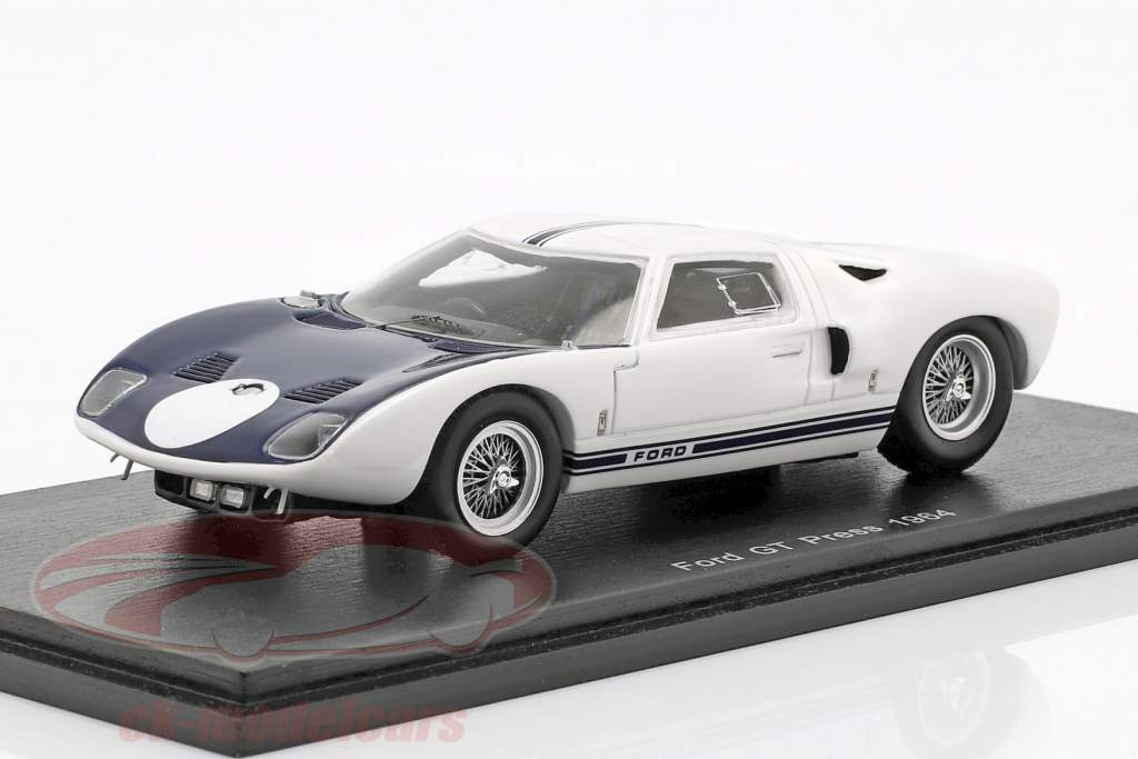 Ford GT tryk udgave 1964 1:43 Spark