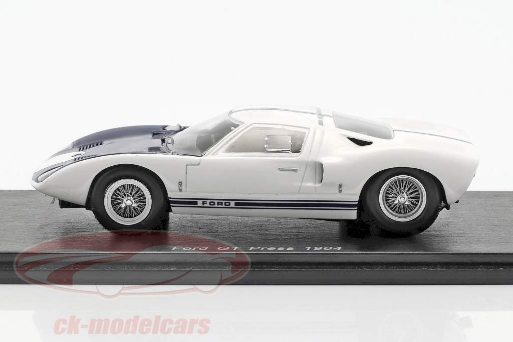 Ford GT stampa versione 1964 1:43 Spark