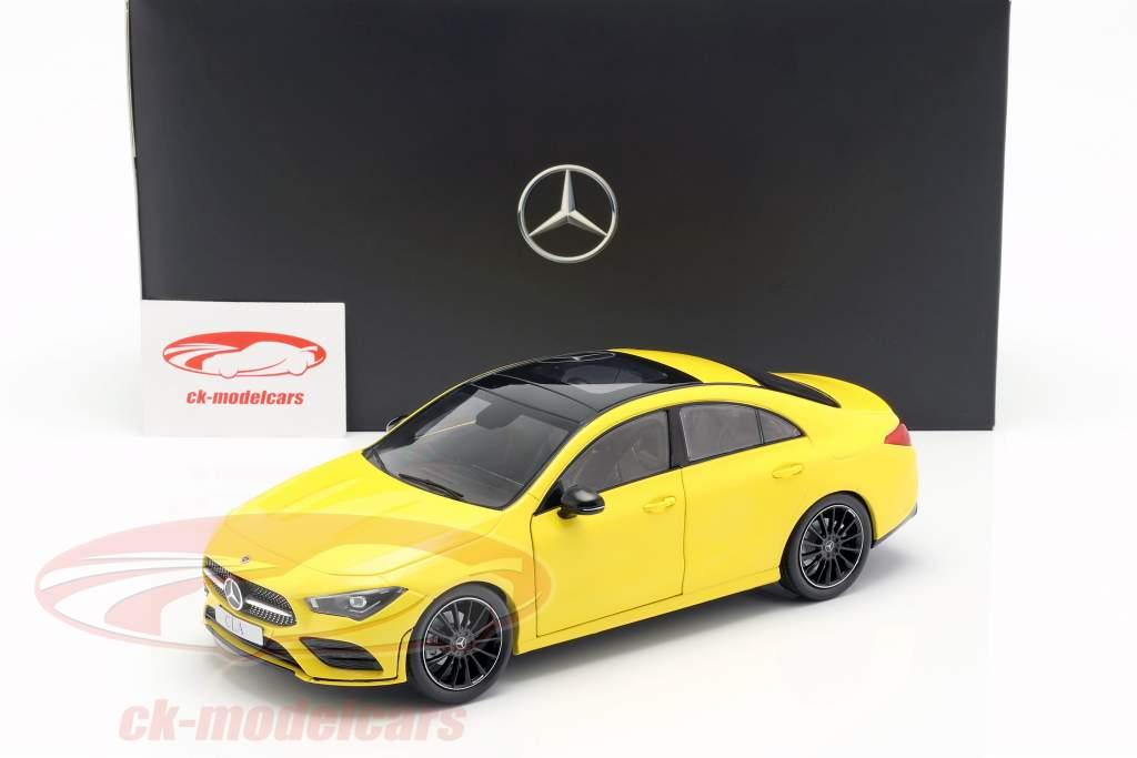 Mercedes-Benz CLA Coupe (C118) ano de construção 2019 sol amarelo 1:18 Z-Models