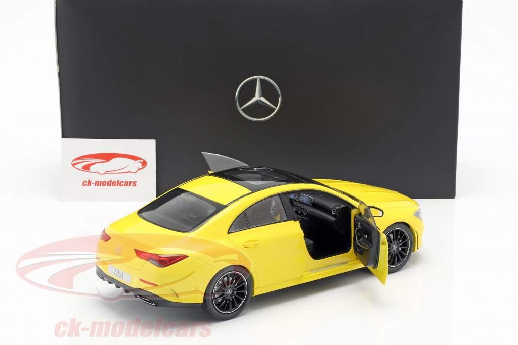 Mercedes-Benz CLA Coupe (C118) Baujahr 2019 sonnengelb 1:18 Z-Models