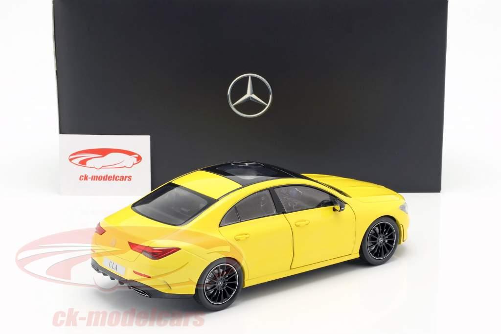 Mercedes-Benz CLA Coupe (C118) anno di costruzione 2019 sole giallo 1:18 Z-Models