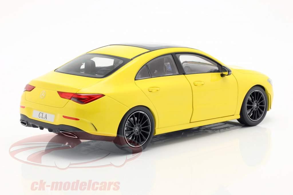 Mercedes-Benz CLA Coupe (C118) Opførselsår 2019 sol gul 1:18 Z-Models