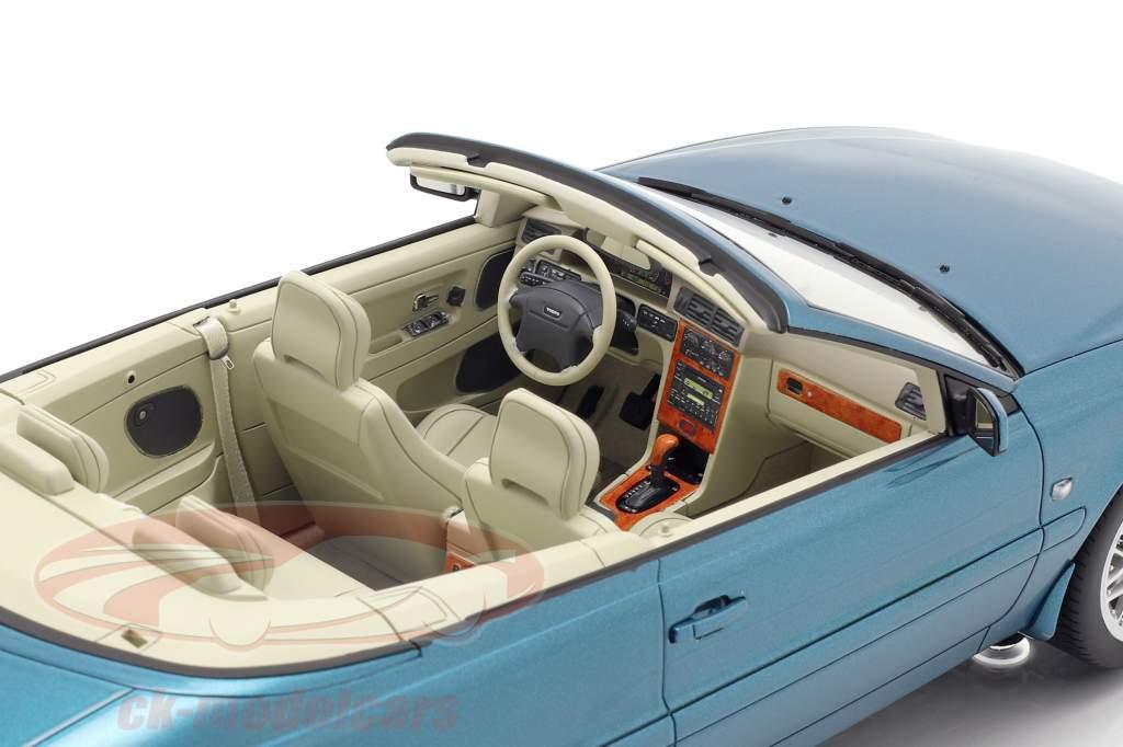 Volvo C70 convertibile anno di costruzione 1999 turchese metallico 1:18 DNA Collectibles