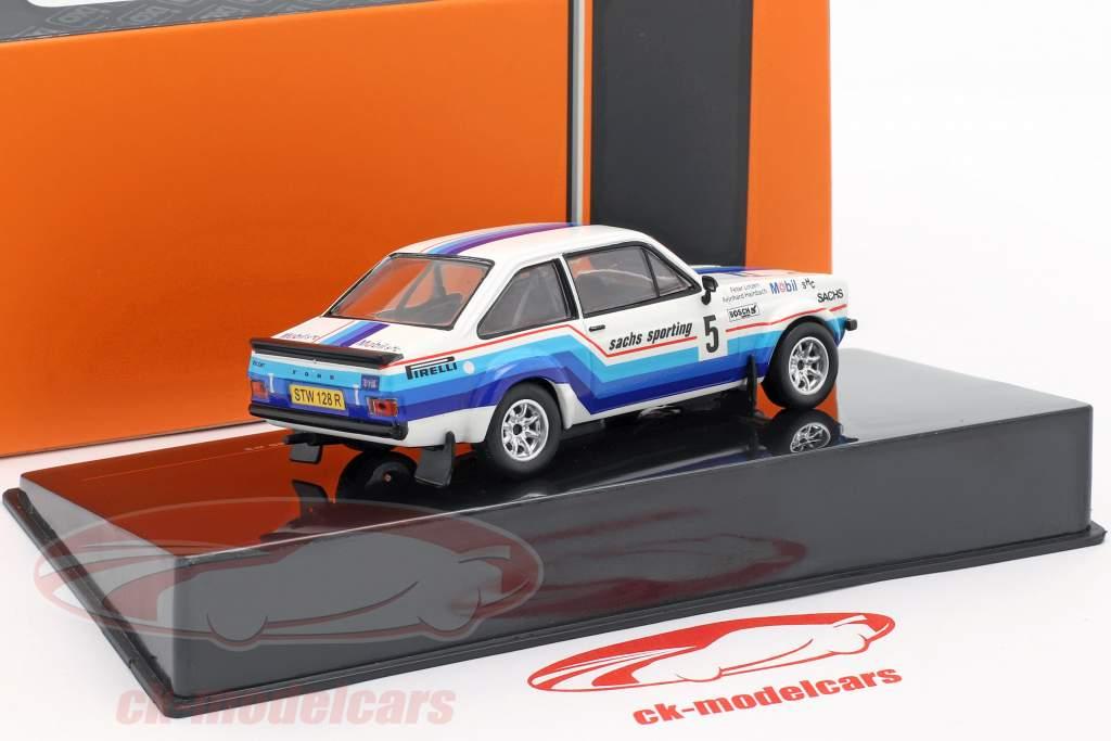 Ford Escort MK II RS 1800 #5 gagnant Hessen Rallye 1978 Hainbach, Linzen 1:43 Ixo