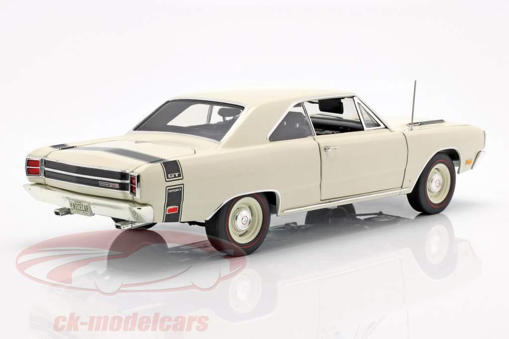 Dodge Dart GTS 440 ano de construção 1969 branco 1:18 GMP
