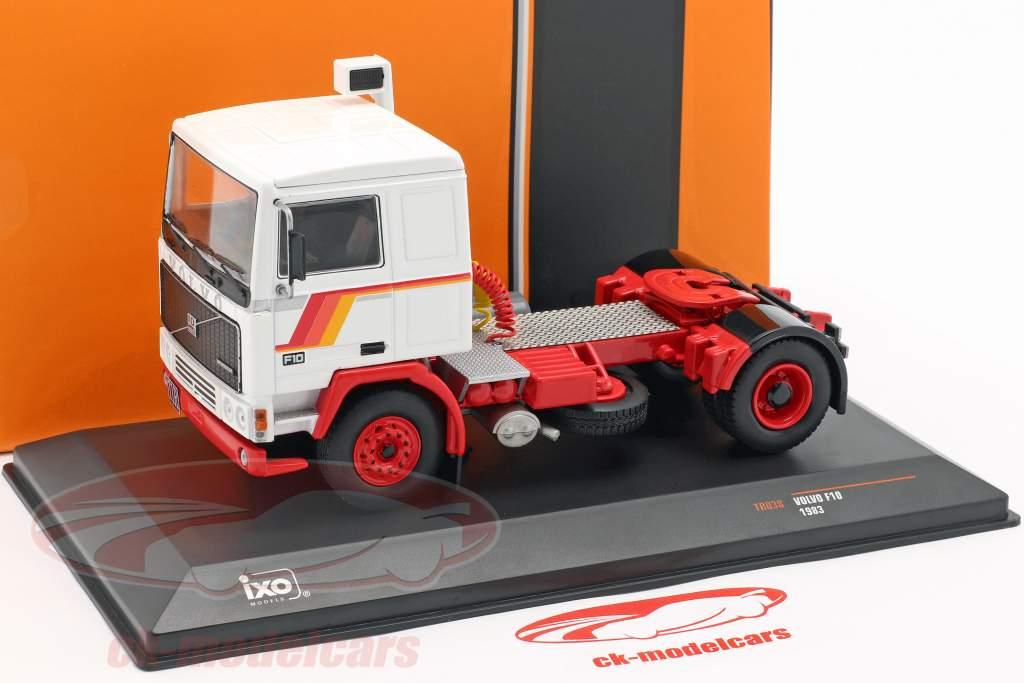 Volvo F10 camión año de construcción 1983 blanco 1:43 Ixo