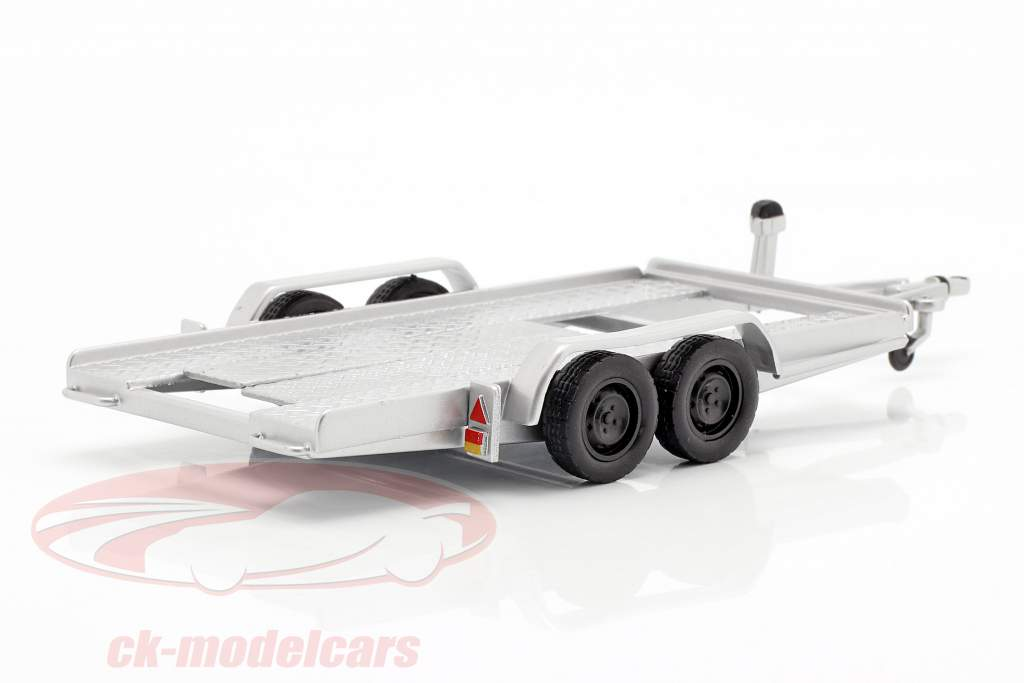 auto trailer argento 1:43 Ixo