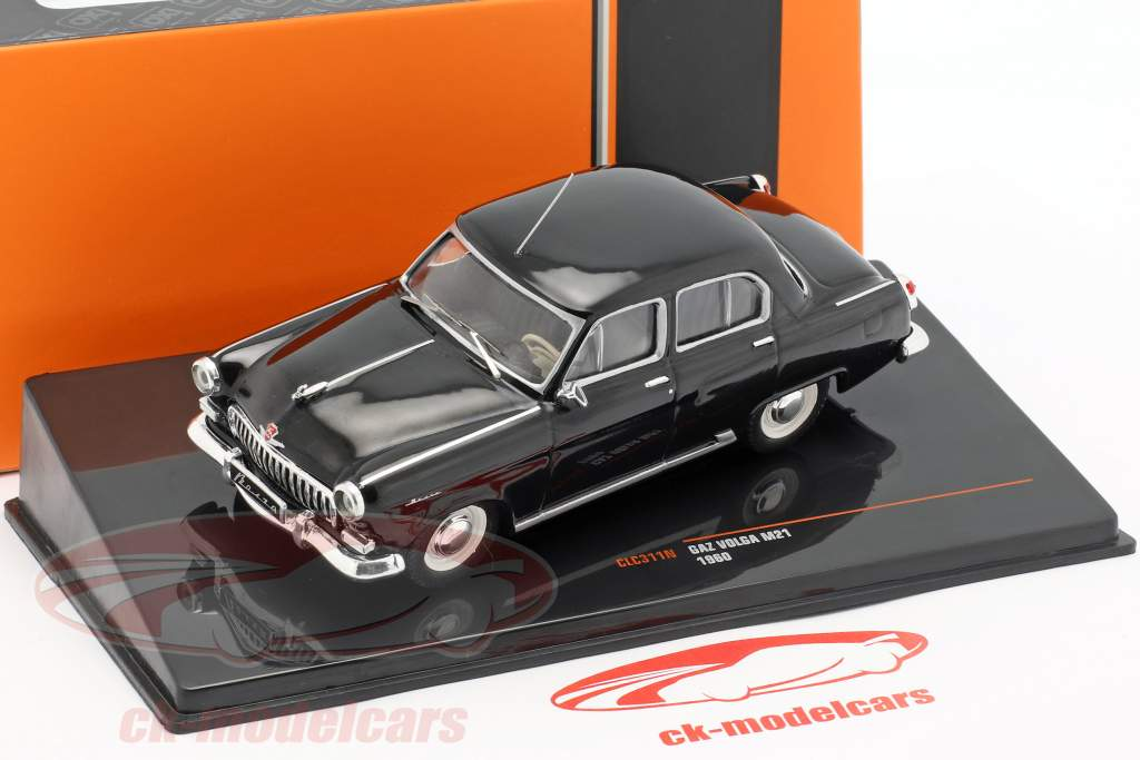 Wolga GAZ M21 year 1960 black 1:43 Ixo