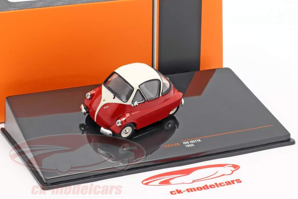 Iso Isetta año de construcción 1955 rojo / blanco 1:43 Ixo