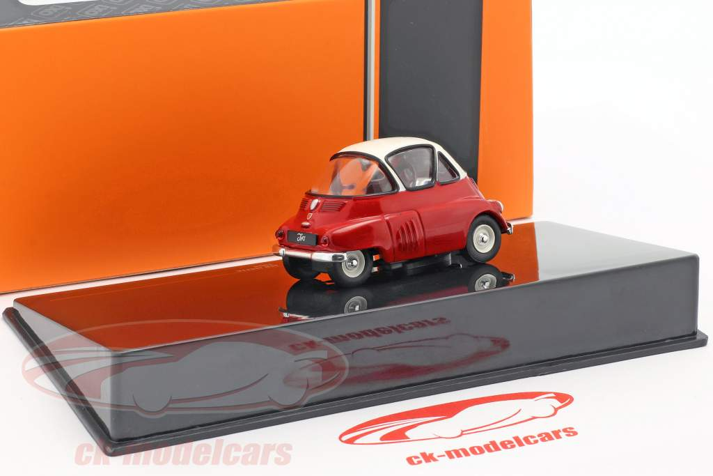 Iso Isetta year 1955 red / white 1:43 Ixo