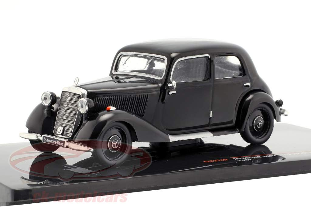 Mercedes-Benz 170V (W136) Bouwjaar 1949 zwart 1:43 Ixo
