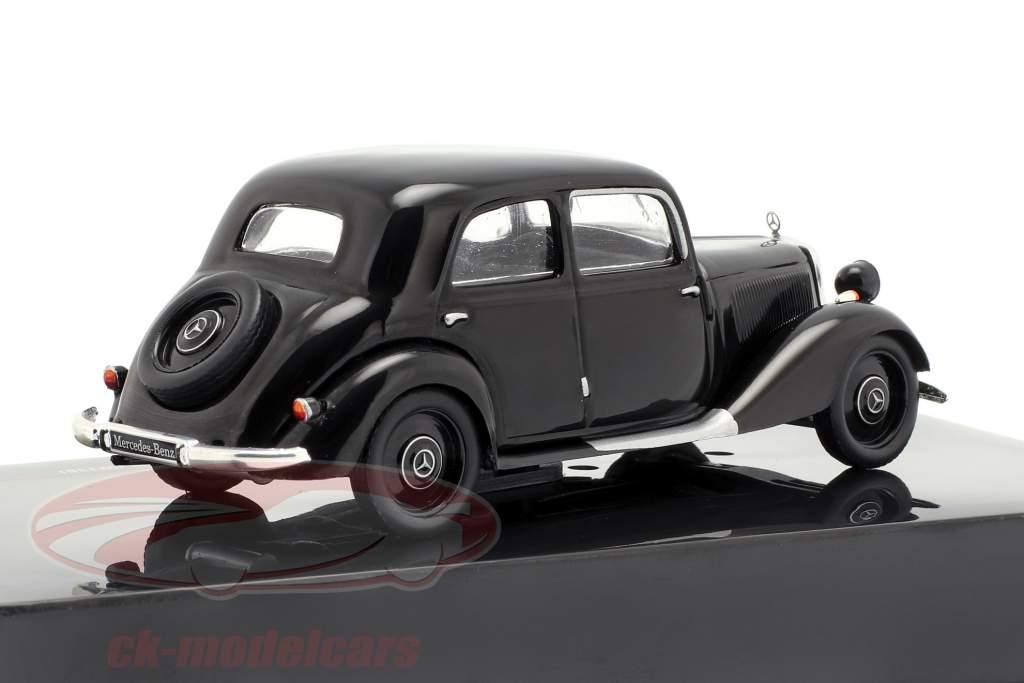 Mercedes-Benz 170V (W136) ano de construção 1949 preto 1:43 Ixo