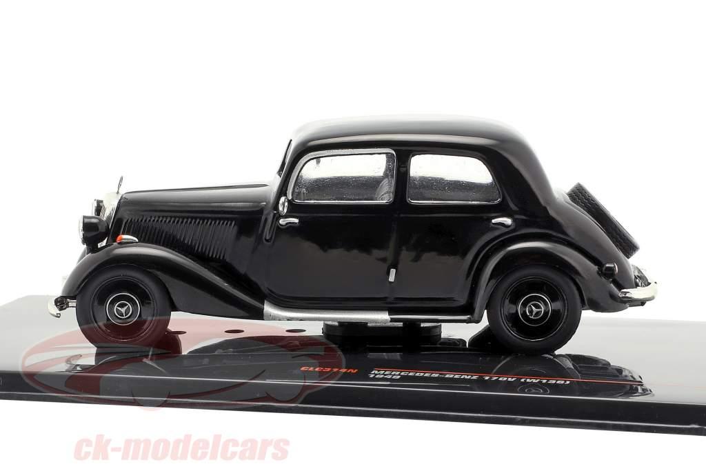 Mercedes-Benz 170V (W136) anno di costruzione 1949 nero 1:43 Ixo