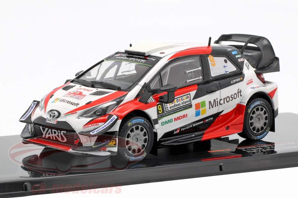 Toyota Yaris WRC #9 3rd Rallye Italy Sardinia Lappi, Fern 1:43 Ixo