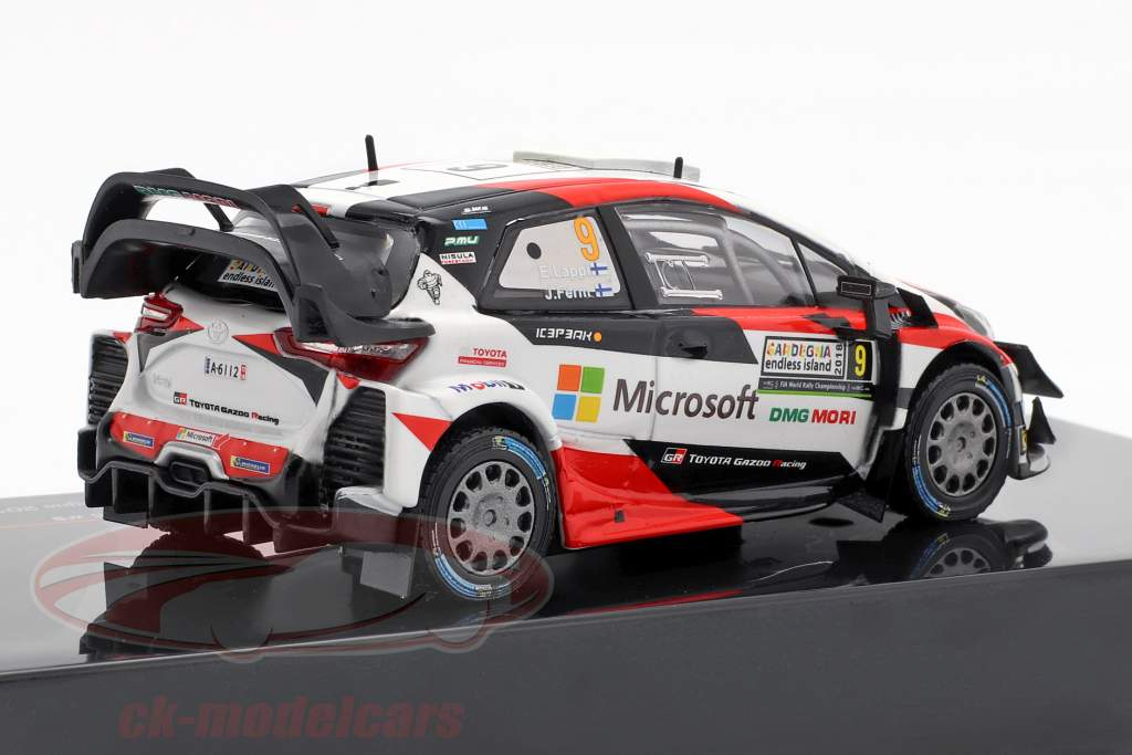 Toyota Yaris WRC #9 3rd Rallye Italien Sardinien Lappi, Fern 1:43 Ixo