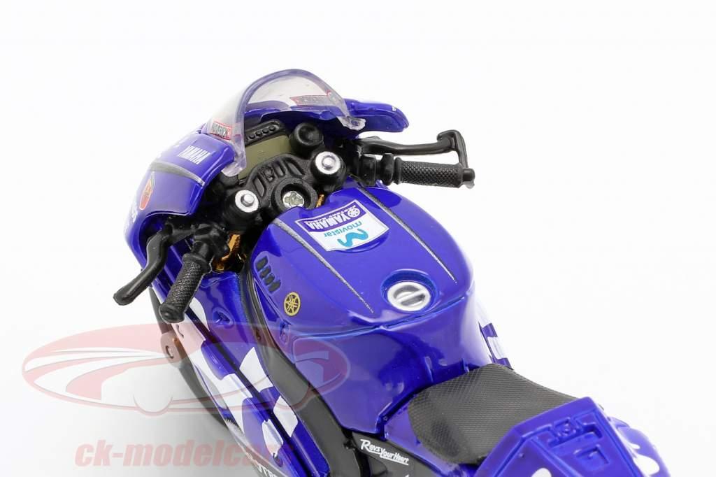 Maverick Vinales Yamaha YZR-M1 #25 MotoGP 2018 1:18 Maisto