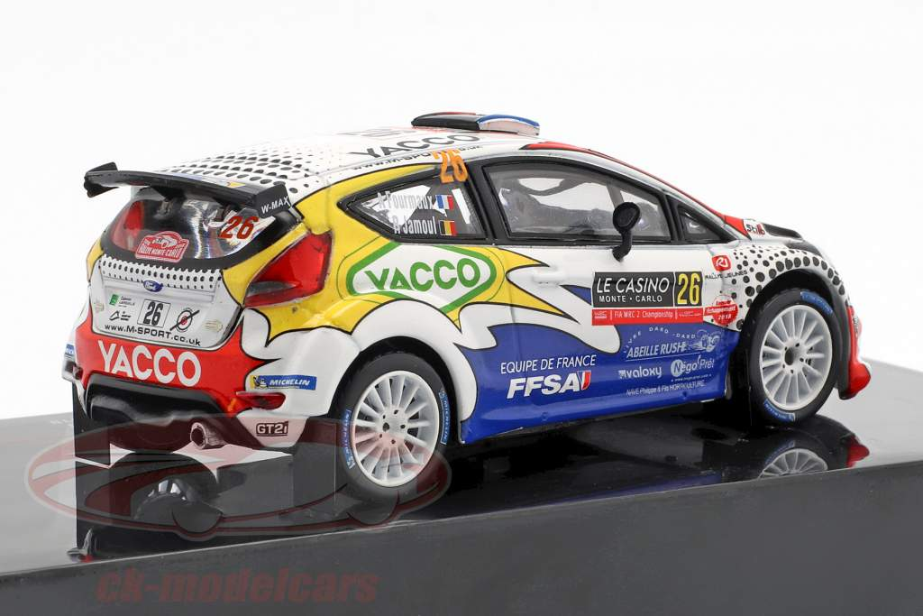 Ford Fiesta R5 #26 Rallye Monte Carlo 2019 Fourmaux, Jamoul 1:43 Ixo