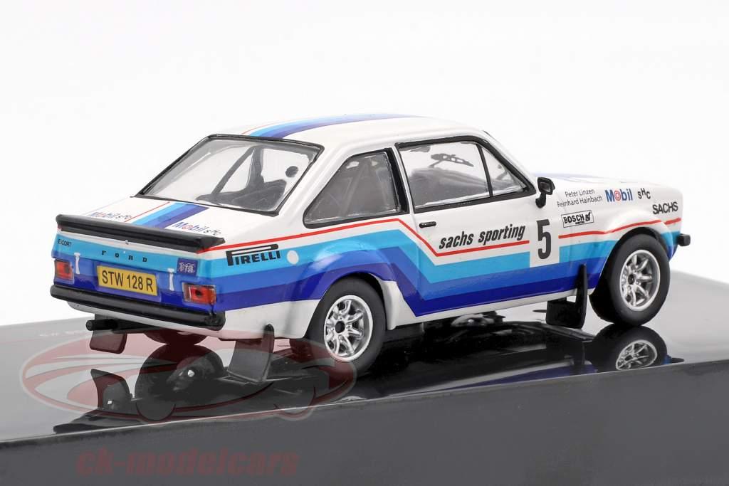 Ford Escort MK II RS 1800 #5 winnaar Hessen Rallye 1978 Hainbach, Linzen 1:43 Ixo