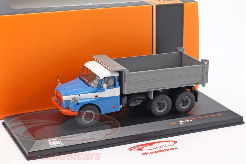 Tatra T 148 S3 Camion-benne année de construction 1977 bleu / gris 1:43 Ixo