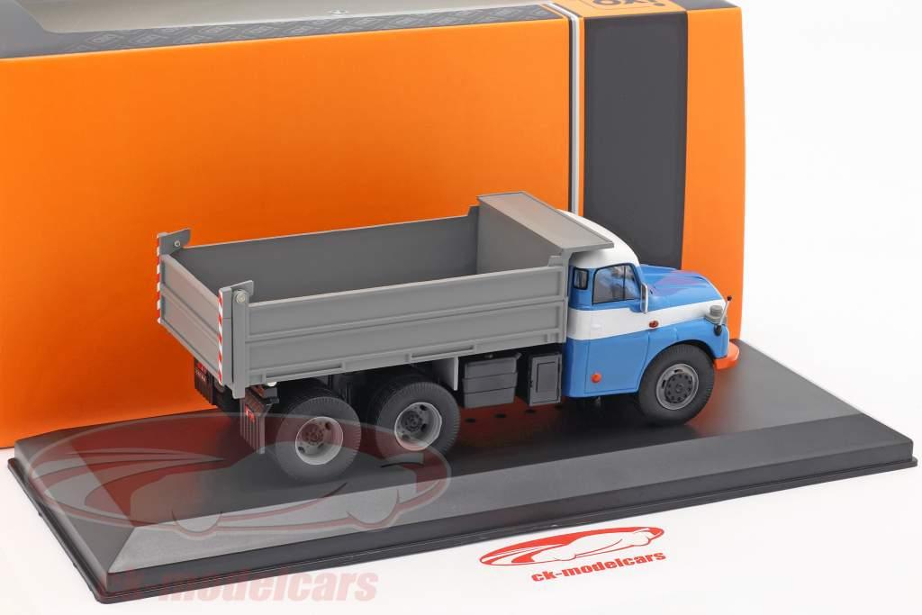 Tatra T 148 S3 Camión volquete año de construcción 1977 azul / gris 1:43 Ixo