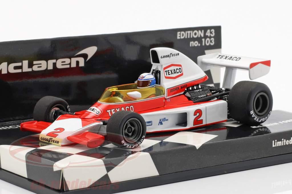 Jochen Mass McLaren M23 #2 formel 1 1975 1:43 Minichamps