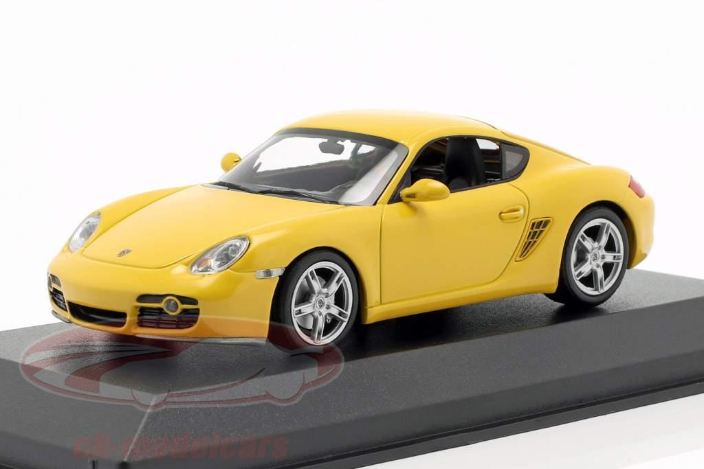 Porsche Cayman S (987c) anno di costruzione 2005 giallo 1:43 Minichamps