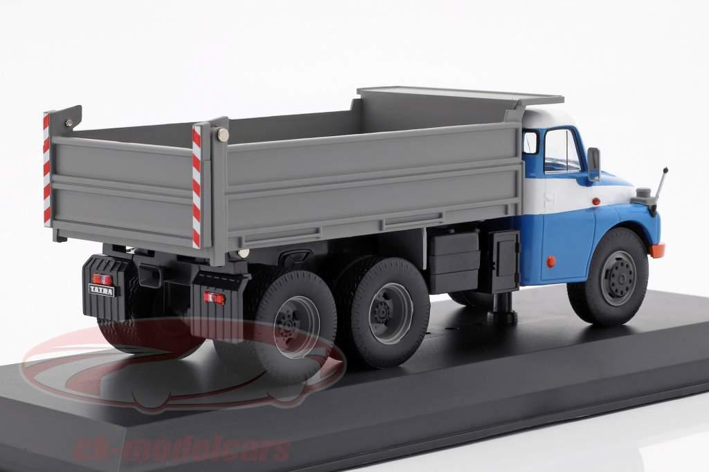 Tatra T 148 S3 dumper Opførselsår 1977 blå / grå 1:43 Ixo