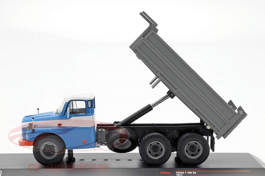 Tatra T 148 S3 Dump Truck anno di costruzione 1977 blu / grigio 1:43 Ixo
