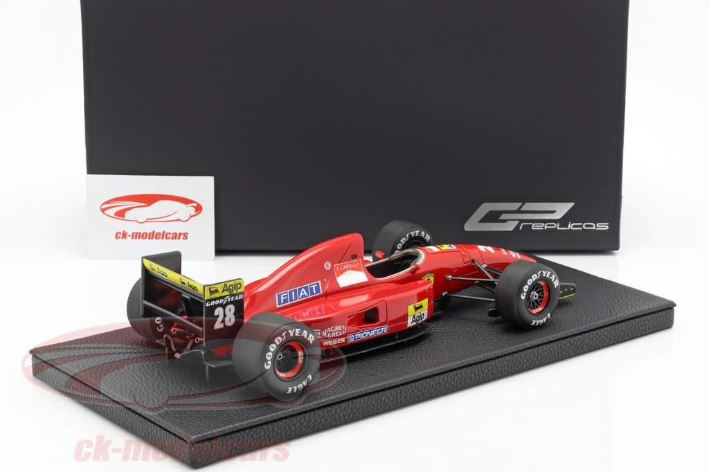 Ivan Capelli Ferrari F92A #28 fórmula 1 1992 1:18 GP Replicas