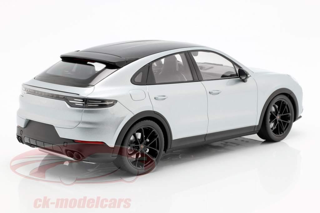 Porsche Cayenne S Coupe 2019 dolomie argent 1:18 Norev