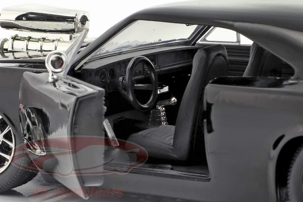 Dom's Dodge Charger R/T 1970 フィルム Fast & Furious (2001) とともに フィギュア 1:24 Jada Toys