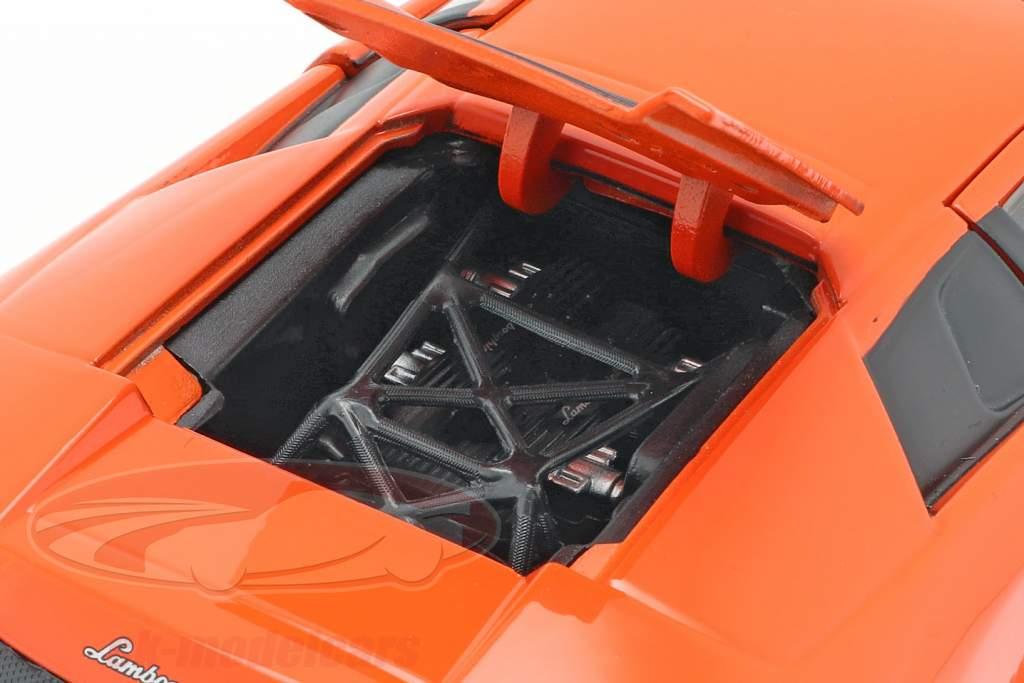 Roman's Lamborghini Murcielago filme Fast & Furious 8 (2017) laranja 1:24 Jada Toys