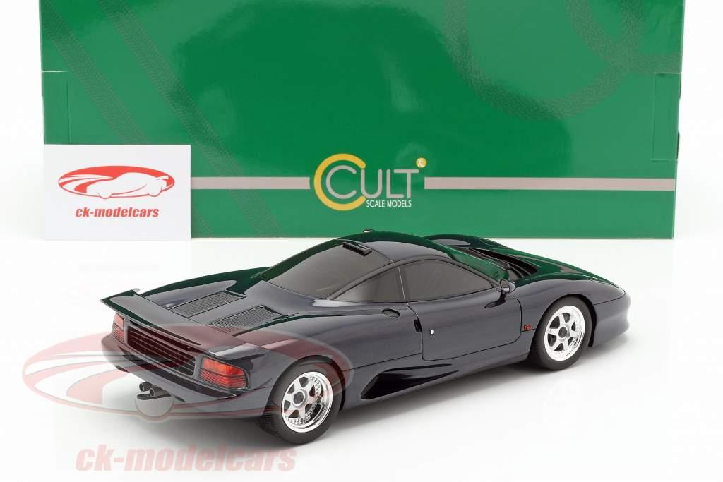 Jaguar XJR-15 Opførselsår 1990 mørkeblå metallisk 1:18 Cult Scale